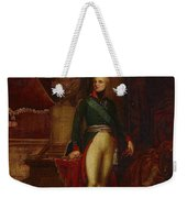 Portrait Of The Emperor Alexander Weekender Tote Bag