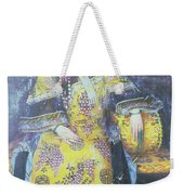 Portrait Of The Empress Dowager Cixi Weekender Tote Bag by Chinese School
