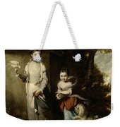 Portrait Of The Ladies Amabel And Mary Jemima Yorke Weekender Tote Bag