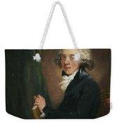 Portrait Of The Scottish Weekender Tote Bag