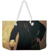 Portrait Of Theodore Roosevelt Weekender Tote Bag by John Singer Sargent