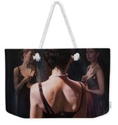 Portrait Of Two Souls Weekender Tote Bag