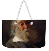Portrait Of Walt Whitman 1887 Weekender Tote Bag