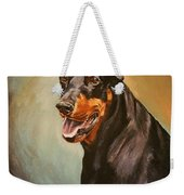 Portrait Of Zeus Weekender Tote Bag