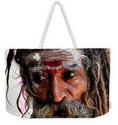 Portrait On The Ganges Weekender Tote Bag