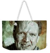 Portrait Painting Cinematographer Camera Operator Behind The Scenes Movie Tv Show Film Chicago Med Weekender Tote Bag