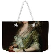 Portrait Senior Sean Bermudes Portrait Of Maria De Borbon Luisy Weekender Tote Bag