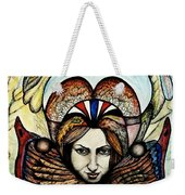 Portrait With Nature # 4 Weekender Tote Bag