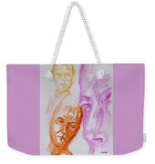 Portraits In 3b Weekender Tote Bag
