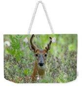 Portriat Of Male Deer Weekender Tote Bag