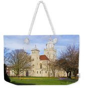 Portsmouth Cathedral In Springtime Weekender Tote Bag