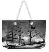 Portuguese Tall Ship Weekender Tote Bag