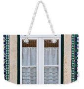 Portuguese Window Weekender Tote Bag