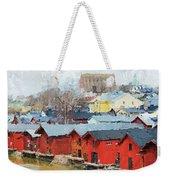 Porvoo Town Weekender Tote Bag