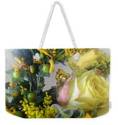 Posies Picturesque Weekender Tote Bag