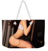 Posing For Him Weekender Tote Bag