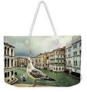 Posing For Tourists Weekender Tote Bag