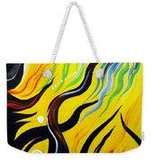 Positive Energy. Abstract Art Weekender Tote Bag