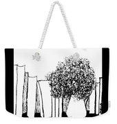 Positive Thinking  Weekender Tote Bag