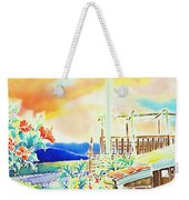 Post Office In The Island Weekender Tote Bag
