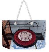 Post Office Pies Weekender Tote Bag