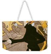 Poster Advertising Le Divan Japonais Weekender Tote Bag by Henri de Toulouse Lautrec