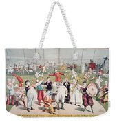 Poster Advertising The Barnum And Bailey Greatest Show On Earth Weekender Tote Bag
