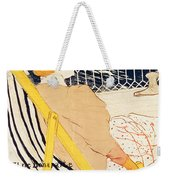 Poster Advertising The Exposition Internationale Daffiches Paris Weekender Tote Bag