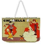 Poster For Cinderella Weekender Tote Bag
