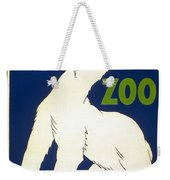 Poster For The Brookfield Zoo Weekender Tote Bag