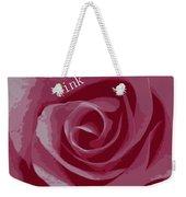 Poster Rose Weekender Tote Bag
