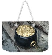 Pot Of Gold At The Rainbow Weekender Tote Bag