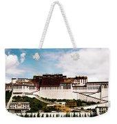 Potala Palace Dalai Lama Home Place. Tibet Kailash Yantra.lv 2016  Weekender Tote Bag