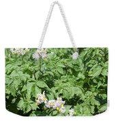 Potato Flower Agriculture Spring Scene Weekender Tote Bag