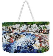 Potomac River At Great Falls  4 201687 Weekender Tote Bag