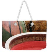Pottery Abstract Weekender Tote Bag