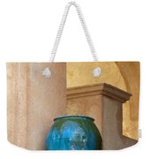 Pottery And Archways Weekender Tote Bag by Sandra Bronstein