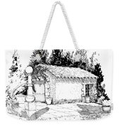 Potting Shed At Le Coin Retro In Le Thor France Weekender Tote Bag