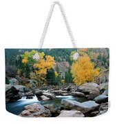 Poudre Gold Weekender Tote Bag