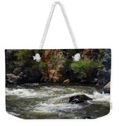 Poudre River Weekender Tote Bag