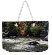 Poudre River 2 Weekender Tote Bag