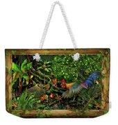 Poultrified Garden Of Eden Weekender Tote Bag