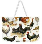 Poultry Weekender Tote Bag