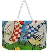 Poultry In Motion Weekender Tote Bag