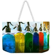 Pour Me A Rainbow Weekender Tote Bag
