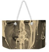 Poured Milk Weekender Tote Bag