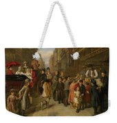 Poverty And Wealth Weekender Tote Bag