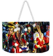 Pow Wow Beauty Of The Past 5 Weekender Tote Bag