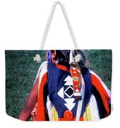 Pow-wow Colors Weekender Tote Bag
