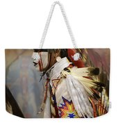 Pow Wow First Nation Dancer Weekender Tote Bag